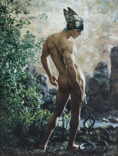 Pierre et Gilles, Mercure (2001) [exposition Masculin/Masculin à Orsay]